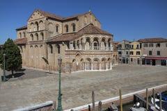 Eiland Murano - Venetië - Italië Stock Foto's