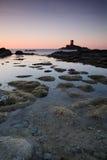 Eiland op Riviera Stock Afbeelding