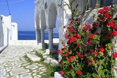 Eiland Paros, Griekenland stock foto
