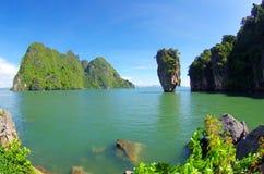 Eiland in Thailand royalty-vrije stock foto's