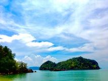 Eiland in Thailand stock fotografie