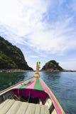 Eiland in Trang Royalty-vrije Stock Afbeeldingen