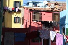 Eiland van de kust van Venetië Stock Afbeelding