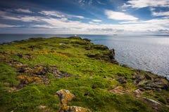 Eiland van Mei, Schotland Stock Foto's