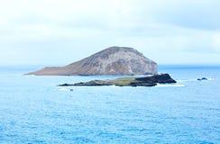 Eiland van oostelijke kust van Oahu, Hawaï Royalty-vrije Stock Foto's