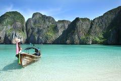 Eiland van Phi Phi Leh royalty-vrije stock afbeelding