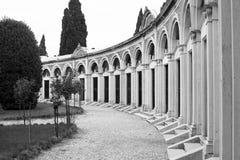 Eiland van San Michele Steeg in de Begraafplaats stock foto's