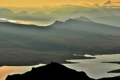 eiland van skye Stock Afbeeldingen