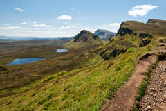 Eiland van Skye, Bioda Buidhe Royalty-vrije Stock Afbeelding