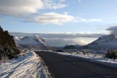 Eiland van Skye in de Winter royalty-vrije stock afbeeldingen