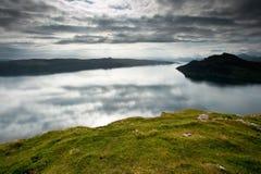 Eiland van Skye, dichtbij Portree stock foto