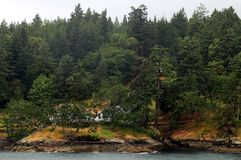 Eiland in Vancouver, Canada stock afbeeldingen