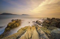 Eiland in zuidelijk van Thailand Stock Foto