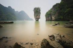 Eiland in zuidelijk van Thailand Royalty-vrije Stock Afbeeldingen
