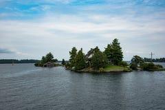 1000 eilanden stock fotografie