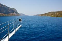 Eilanden in Egeïsche overzees. Royalty-vrije Stock Afbeeldingen