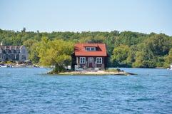 1000 eilanden en Kingston Royalty-vrije Stock Foto