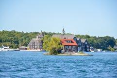 1000 eilanden en Kingston Royalty-vrije Stock Foto's