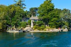 1000 eilanden en Kingston in Ontario, Canada stock foto's