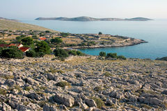 Eilanden Kornati, Kroatië Royalty-vrije Stock Afbeelding