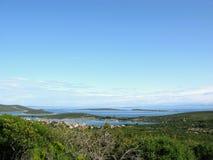 Eilanden Kroatië stock afbeelding