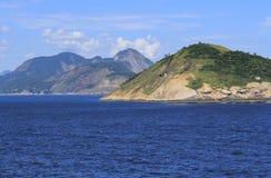Eilanden rond de wereld, Redonda Eiland in Rio de Janeiro, Brazilië royalty-vrije stock afbeelding