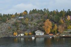 Eilanden Zweden in Oostzee Royalty-vrije Stock Foto