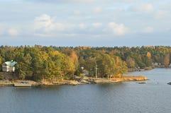 Eilanden Zweden in Oostzee Stock Foto