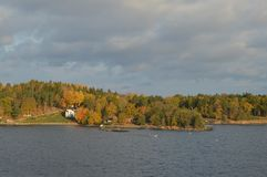 Eilanden Zweden in Oostzee Royalty-vrije Stock Fotografie