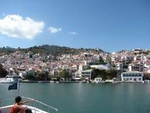 Eilandskopelos in Griekenland royalty-vrije stock foto