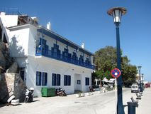 Eilandskopelos in Griekenland royalty-vrije stock fotografie