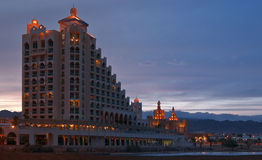 eilat旅馆手段 图库摄影