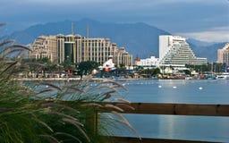 eilat σύγχρονο θέρετρο του Ισραήλ ξενοδοχείων Στοκ Φωτογραφίες