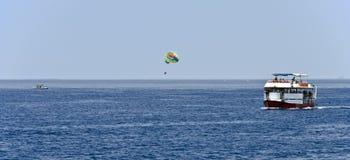 Eilat, спорт воды и зрелищности Стоковое Фото
