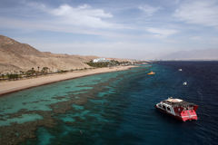 Eilat. Rest on red sea eilat Royalty Free Stock Photo