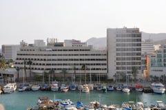 Eilat city hotel Royalty Free Stock Photos