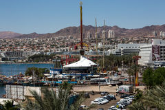 Eilat city view Royalty Free Stock Photo