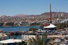 Eilat city view Royalty Free Stock Photos
