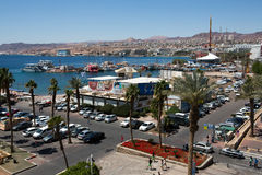 Eilat city view Royalty Free Stock Images