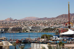 Eilat city view Royalty Free Stock Image