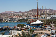 Eilat city view Stock Photography