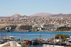Eilat city view Stock Images