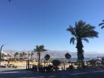 Eilat in december, Israël Stock Foto