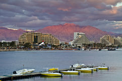 Eilat is a famous resort city of Israel Royalty Free Stock Images