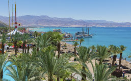 Eilat is a famous resort city, Israel Stock Images