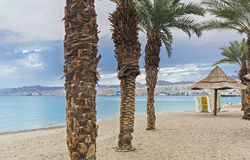 Eilat is a famous resort city, Israel Royalty Free Stock Photos