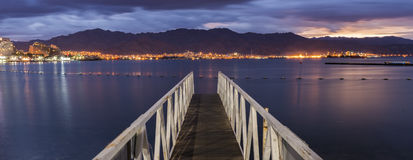 Eilat is a famous resort in Israel Royalty Free Stock Photo