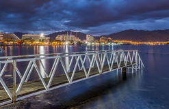 Eilat is a famous resort in Israel Royalty Free Stock Images
