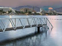 Eilat is a famous resort in Israel Royalty Free Stock Photos