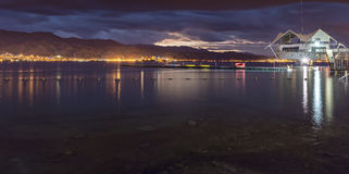 Eilat is a famous resort in Israel Stock Images